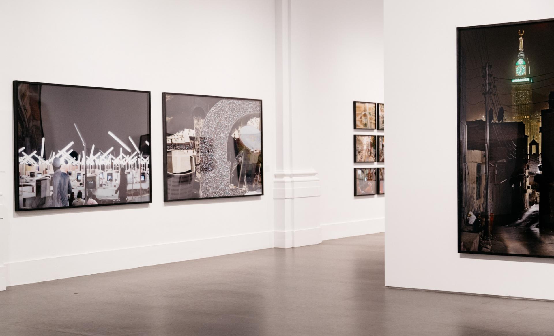 Helga Traxler Brooklyn Museum Opening Ahmed Mater